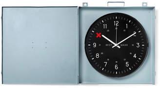 Best Made Company - Workshop Metal Clock - Gray