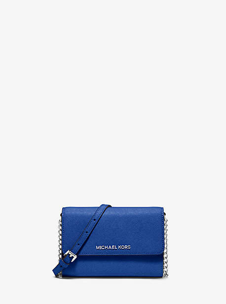 Michael Kors Jet Set Travel Saffiano Leather Smartphone Crossbody