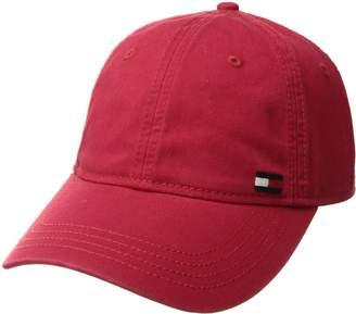 c9345842 Tommy Hilfiger Men's Dad Hat Billy Corner Flag Cap