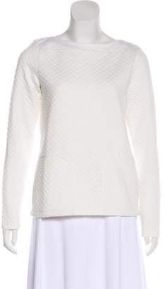 Reiss Knit Long Sleeve Top