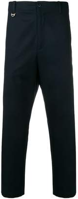 Oamc straight cropped trousers