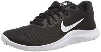 Nike Women's WMNS Flex 2018 Rn Track & Field Shoes, White/Black 018