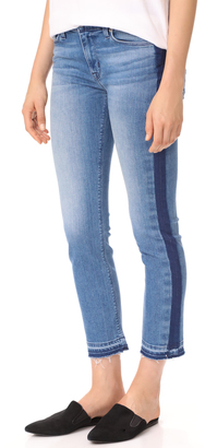 Hudson Tilda Midrise Crop Cigarette Jeans $215 thestylecure.com