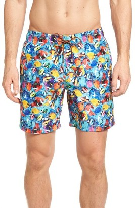 Men's Bugatchi Swim Trunks $129 thestylecure.com