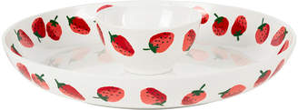 Kate Spade Strawberries Chip & Dip Bowl - 2 Piece Set