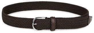 Andersons Anderson's Leather-trimmed Woven Belt