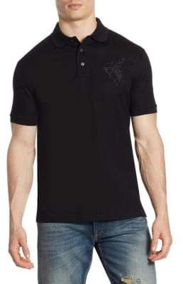 Ralph Lauren Bronco Cotton Pique Polo