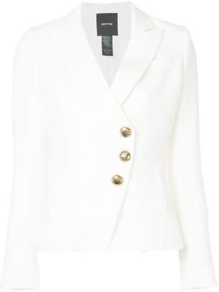 Smythe wrap fitted blazer