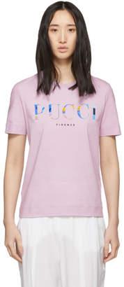 Emilio Pucci Purple Logo T-Shirt