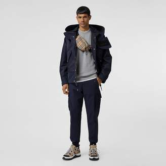 Burberry Cotton Tapered Cargo Trousers