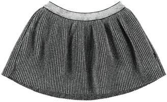 Molo Brina Silver Skirt