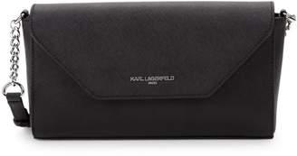 Karl Lagerfeld Paris Leather Crossbody Bag