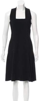 Proenza Schouler Drop-Waist Midi Dress