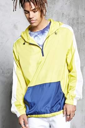 Forever 21 Contrast Stripe Anorak Jacket