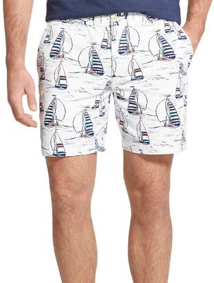 Izod Men's Saltwater Classic-Fit Stretch Fashion Shorts