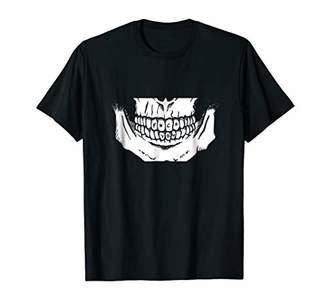 Brutal shirt Skull Graphic tee shirt Men tshirt