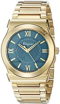 Salvatore Ferragamo Men's 'Vega' Quartz Stainless Steel Casual Watch