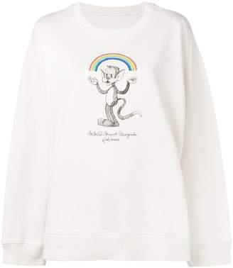 MM6 MAISON MARGIELA kidswear print sweatshirt
