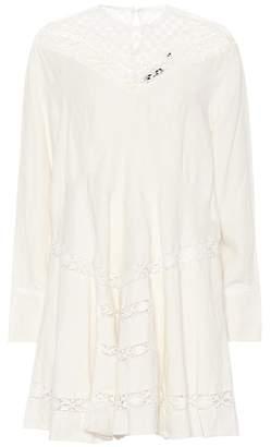 Isabel Marant Loko lace-trimmed linen dress