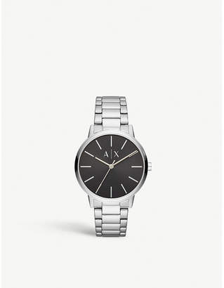 Armani Exchange Cayde stainless steel watch