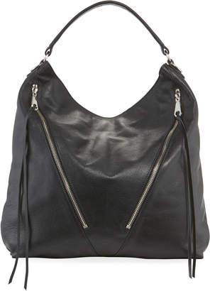 Rebecca Minkoff Moto Soft Leather Zip Hobo Bag