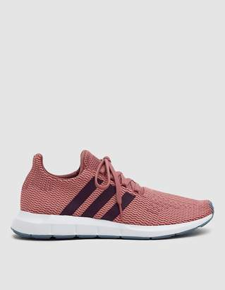 adidas Swift Run Primeknit in Trace Maroon / Red Night / White