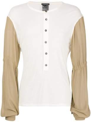 Ann Demeulemeester button-up jumper