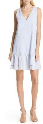 Dolan Sally Embroidered Drop Waist Dress