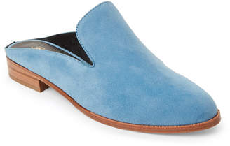 Robert Clergerie Blue Alice Suede Mules