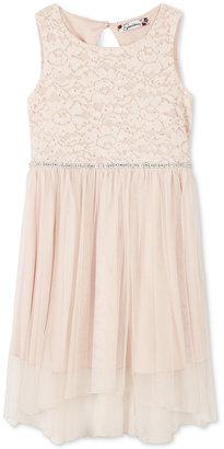Speechless Glitter-Lace Party Dress, Little Girls (2-6X) $58 thestylecure.com