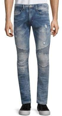 Buffalo David Bitton Max-X Distressed Skinny Jeans