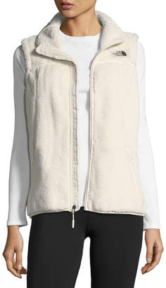 The North Face Campshire Zip-Front Performance Vest, Off-White