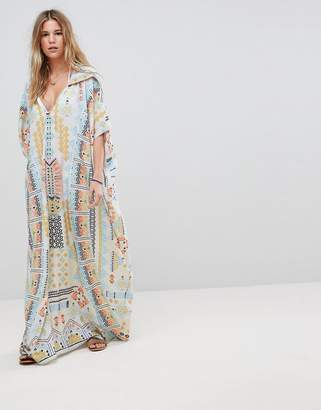 Island Stories Hooded Beach Caftan