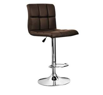 Musicrazyou 1Pcs Bar Stools PU Faux Leather Kitchen Breakfast Chairs Swivel Stools Home