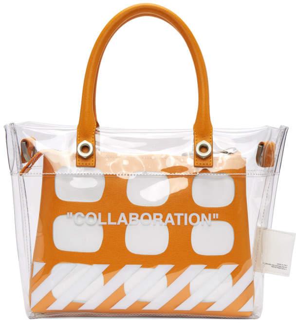 Heron Preston Transparent Off-White Edition Collaboration Duffle Bag fd1a286a712