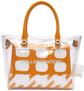 Off-White Heron Preston Transparent Edition Collaboration Duffle Bag