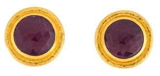 Gurhan 24K Ruby Aurora Earrings