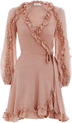 Zimmermann Cascade Wrap Dress