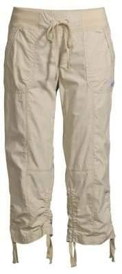 Calvin Klein Cropped Camo Cargo Pants