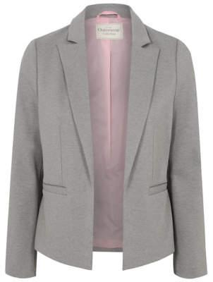 Blaze Light Grey Woven Blazer