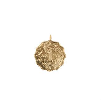 Haati Chai Anna Coin Pendant Charm
