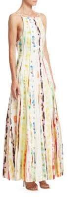 Rosie Assoulin Million Pleats Maxi Dress