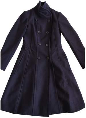 Reiss Purple Wool Coat for Women
