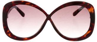 Tom FordTom Ford Margot Tortoiseshell Sunglasses