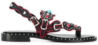 Ash Pacha studded sandals