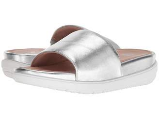 FitFlop Loosh Luxetm Leather Slide Sandals