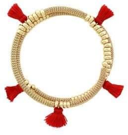 Jessica Simpson Tassel Bangle Bracelet