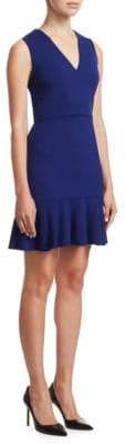 Alice + Olivia Onella V-Neck Dress