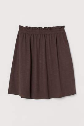 H&M Jersey Skirt - Brown