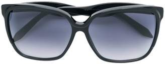 Victoria Beckham square oversized sunglasses